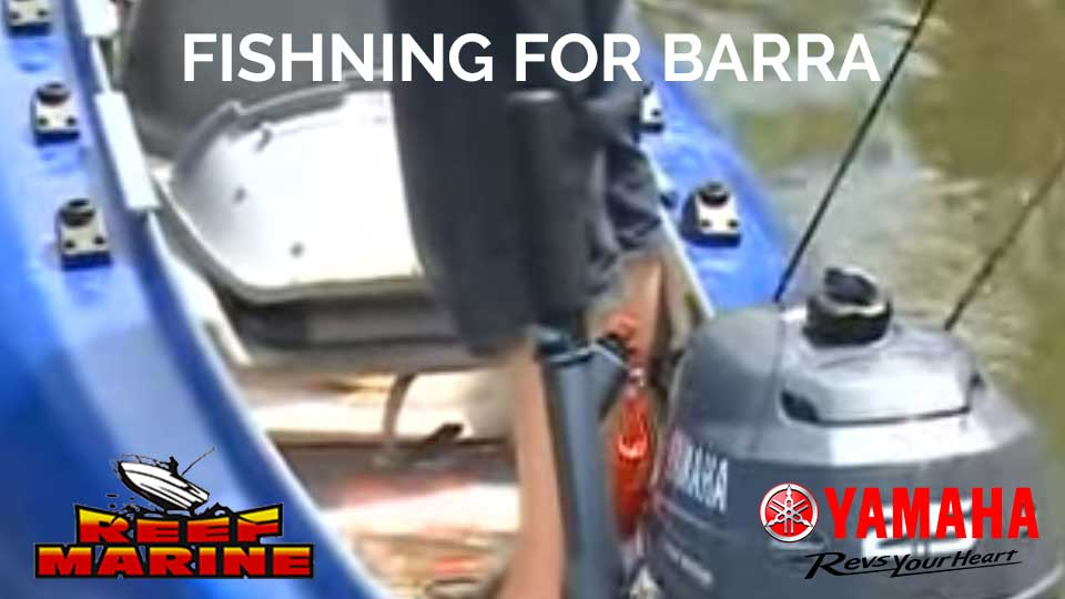 Yamaha F2.5 Fishing For Barra Video