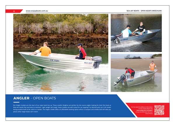 Sea Jay Angler Brochure