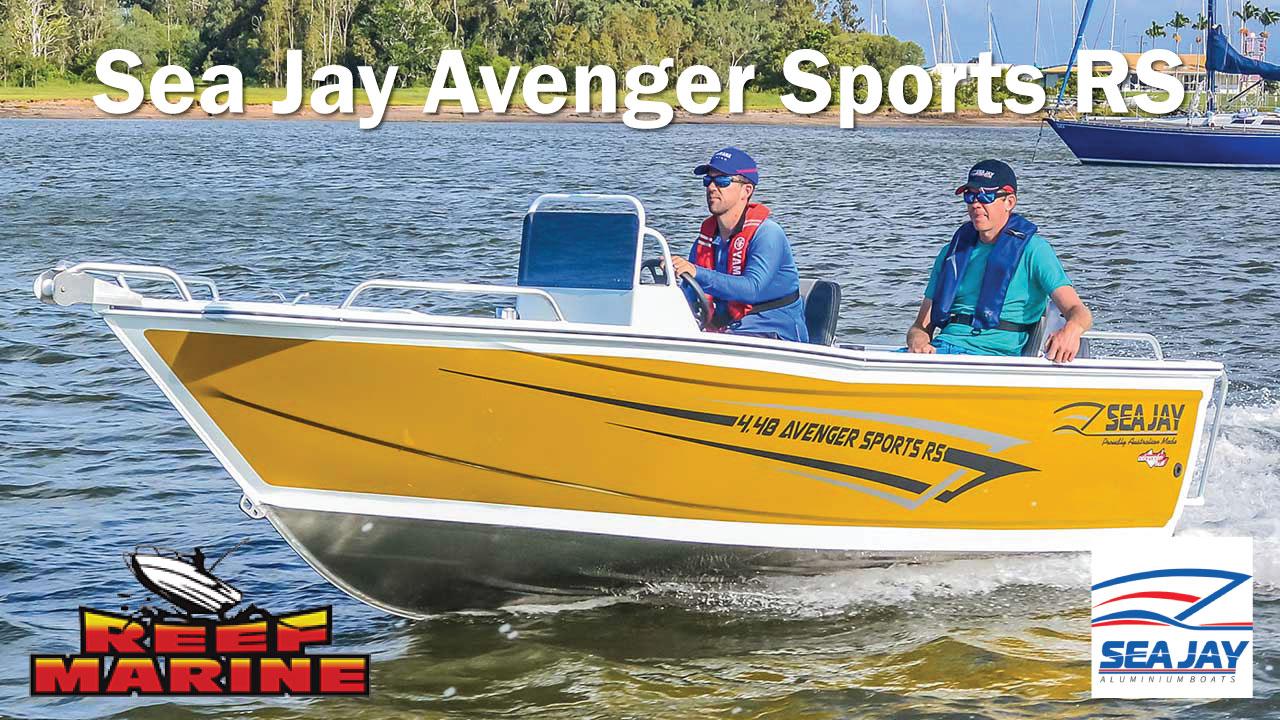Sea Jay Avenger Sports RS Video