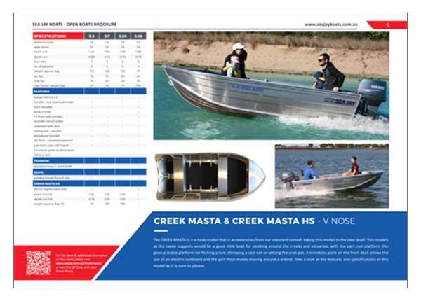 Sea Jay Creek Masta HS