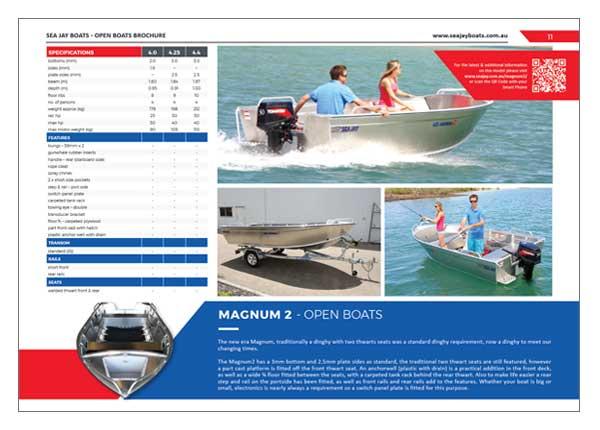 Sea Jay Magnum 2 Brochure