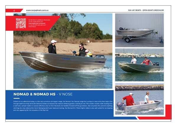 Sea Jay Nomad & Nomad HS Brochure