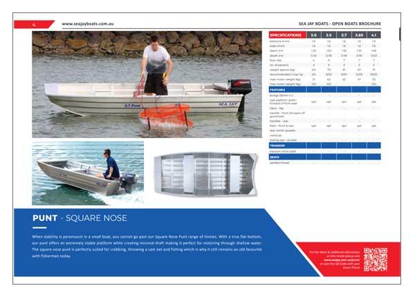 Sea Jay Punt Brochure