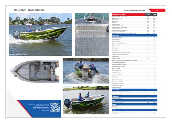 Sea Jay Ranger Sports Brochure