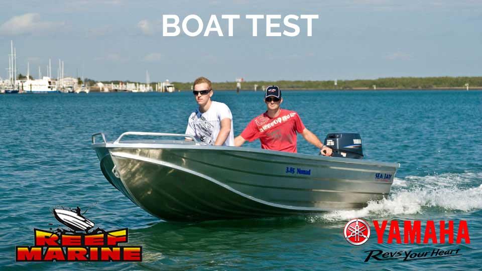 Sea Jay Nomad Boat Test