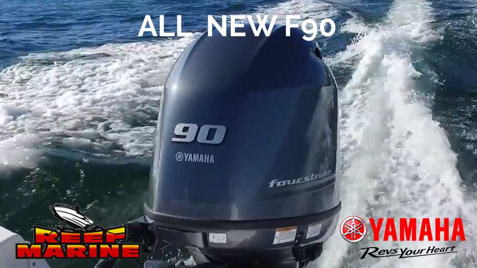 New Yamaha F90 Video
