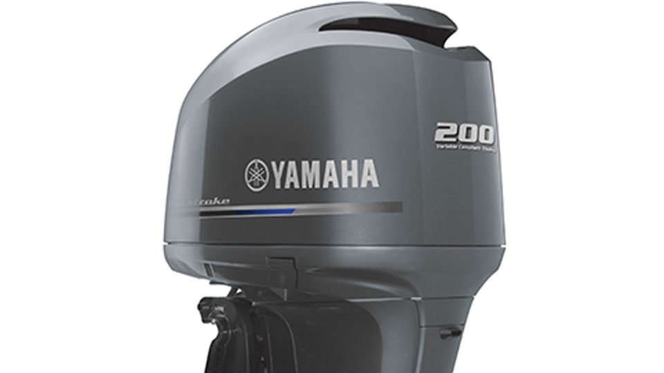 Yamaha F200 V6 Half