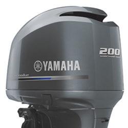YAMAHA FOUR STROKE 200HP V6 OUTBOARD ENGINE