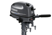 YAMAHA FOUR STROKE 5HP OUTBOARD ENGINE