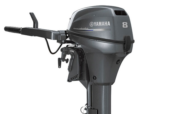 YAMAHA FOUR STROKE 8HP OUTBOARD ENGINE