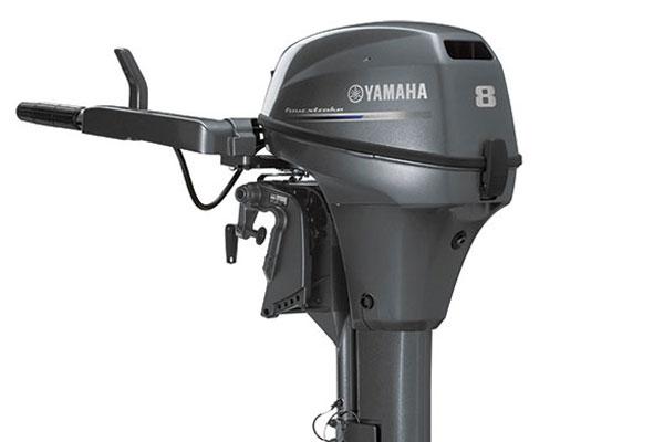 YAMAHA FOUR STROKE 8HP OUTBOARD ENGINE
