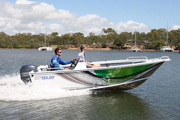 Sea Jay Avenger Sports Boat