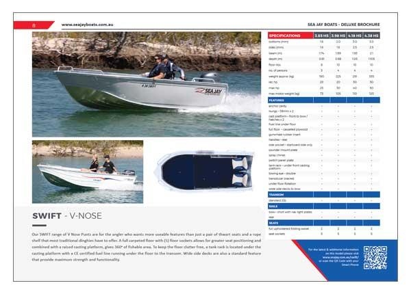 Sea Jay Swift Brochure
