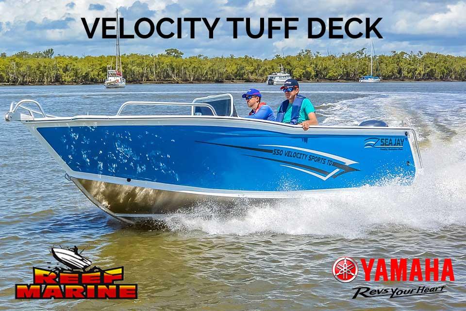 Sea Jay Velocity Sports Tough Deck Video
