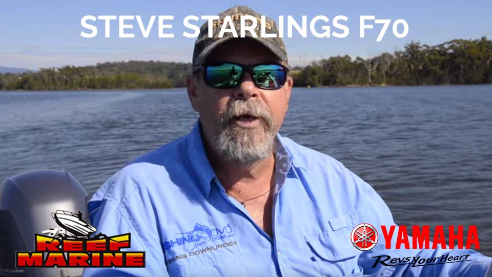 Steve Starlings F70 Yamaha Video