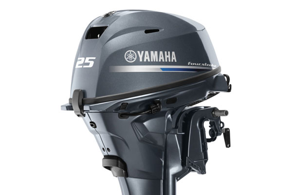 YAMAHA FOUR STROKE HIGH THRUST 25HP OUTBOARD ENGINE