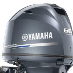 YAMAHA FOUR STROKE HIGH THRUST 60HP OUTBOARD ENGINE