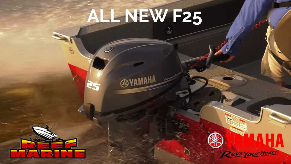 All New Yamaha F25 Video