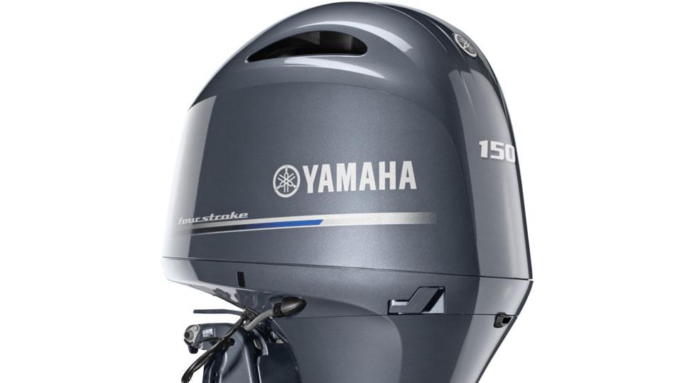 Yamaha F150 Half