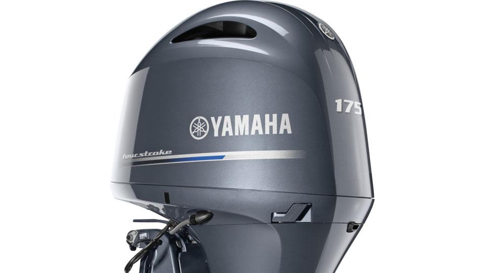 Yamaha F175 Motor Half