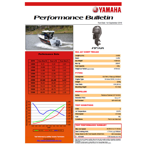 Yamaha F175 Performance Report
