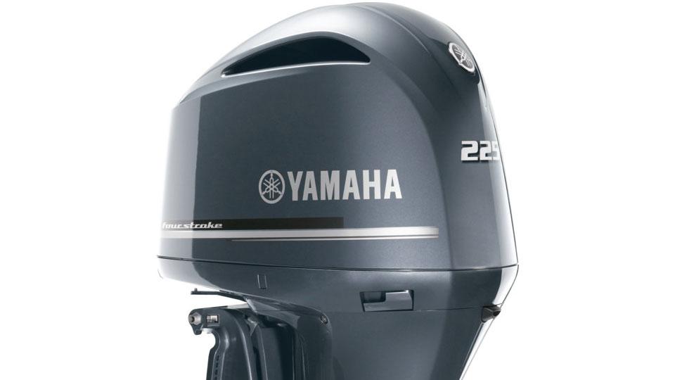 Yamaha F225 Half