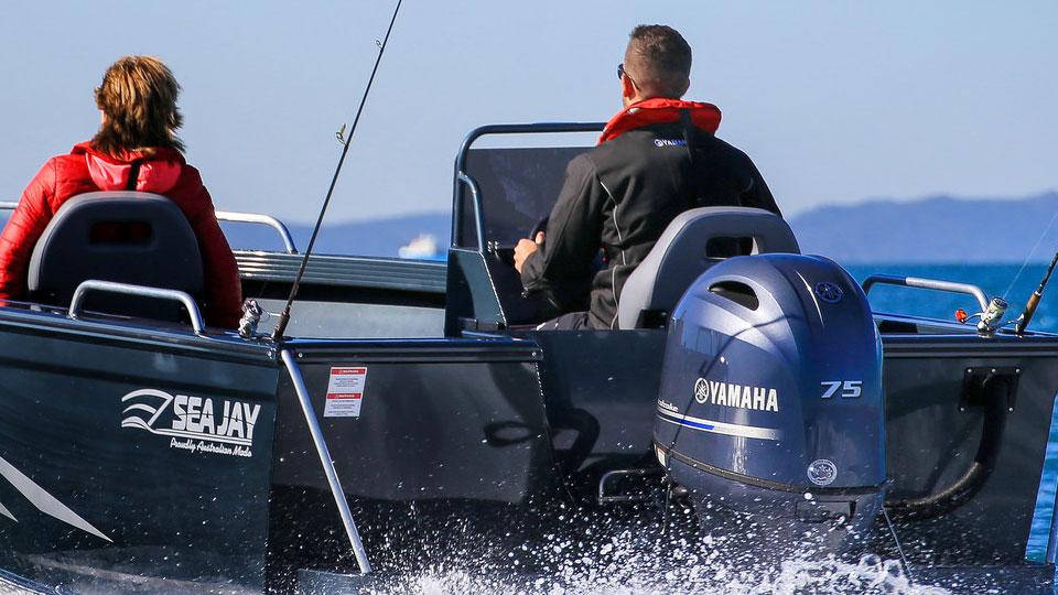 Yamaha F75 Image 6