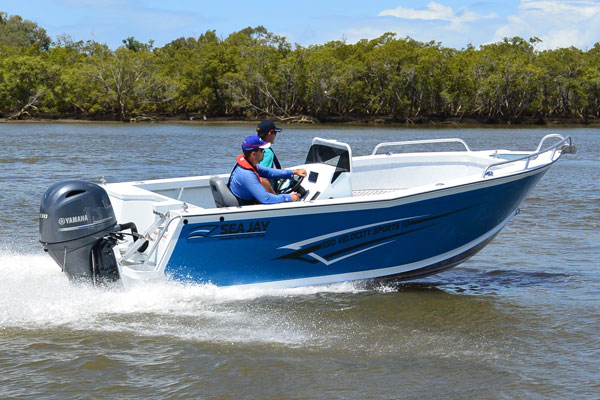 Sea Jay Side Console Side Console Boat