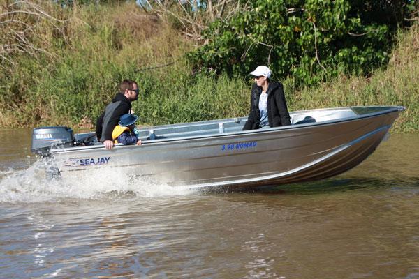 Sea Jay V Nose Punt Boats