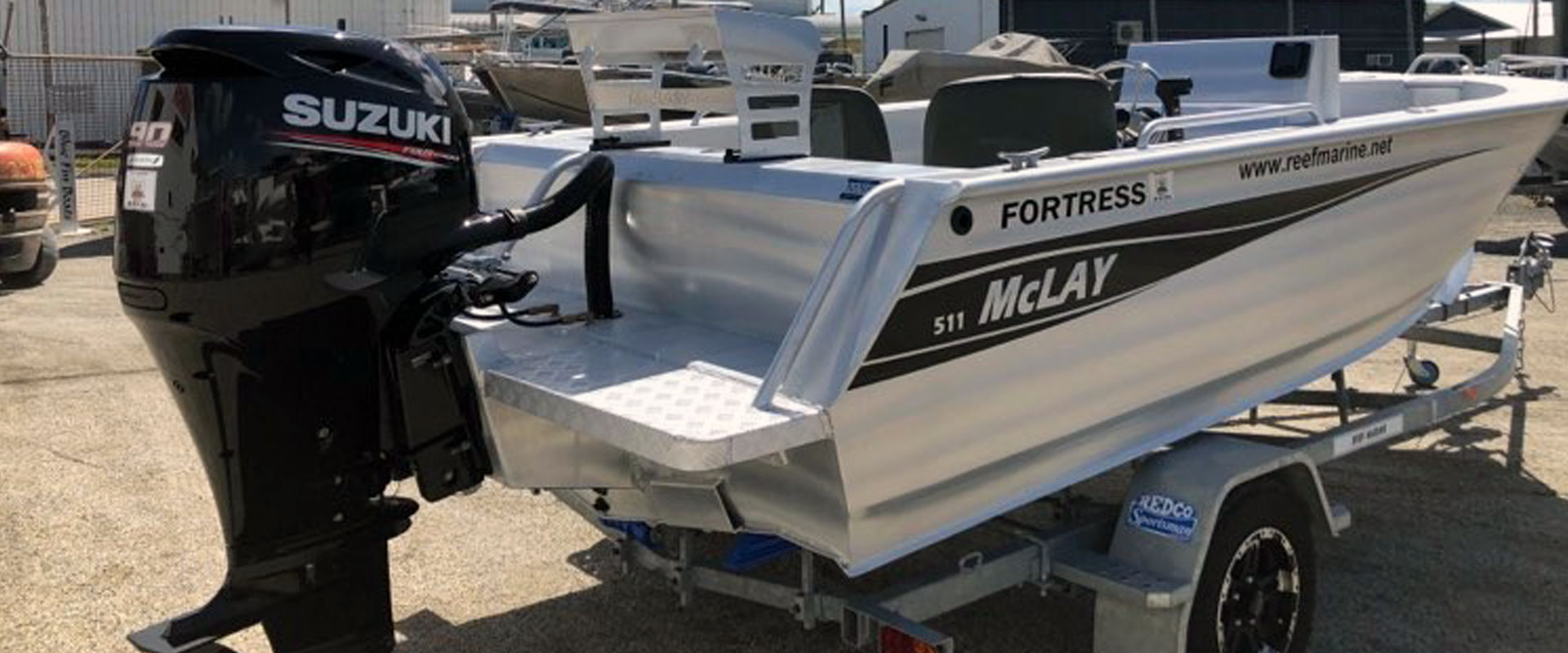 McLay 511 Fortress Side Console