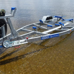 Redco Galvanised Steel Boat Trailers