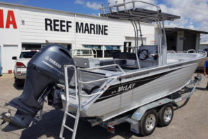 Reef Marine Dealers for McLay 671 Fortress Centre Console