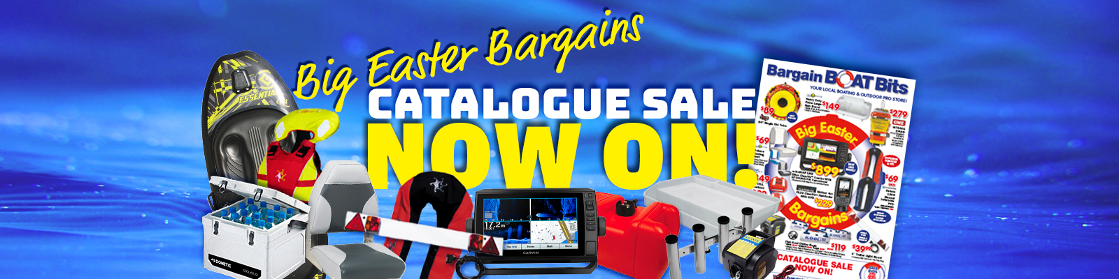 Reef Marine Bargain Boat Bits Easter Cayalogue