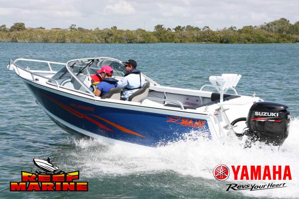 Sea Jay Crusader Video