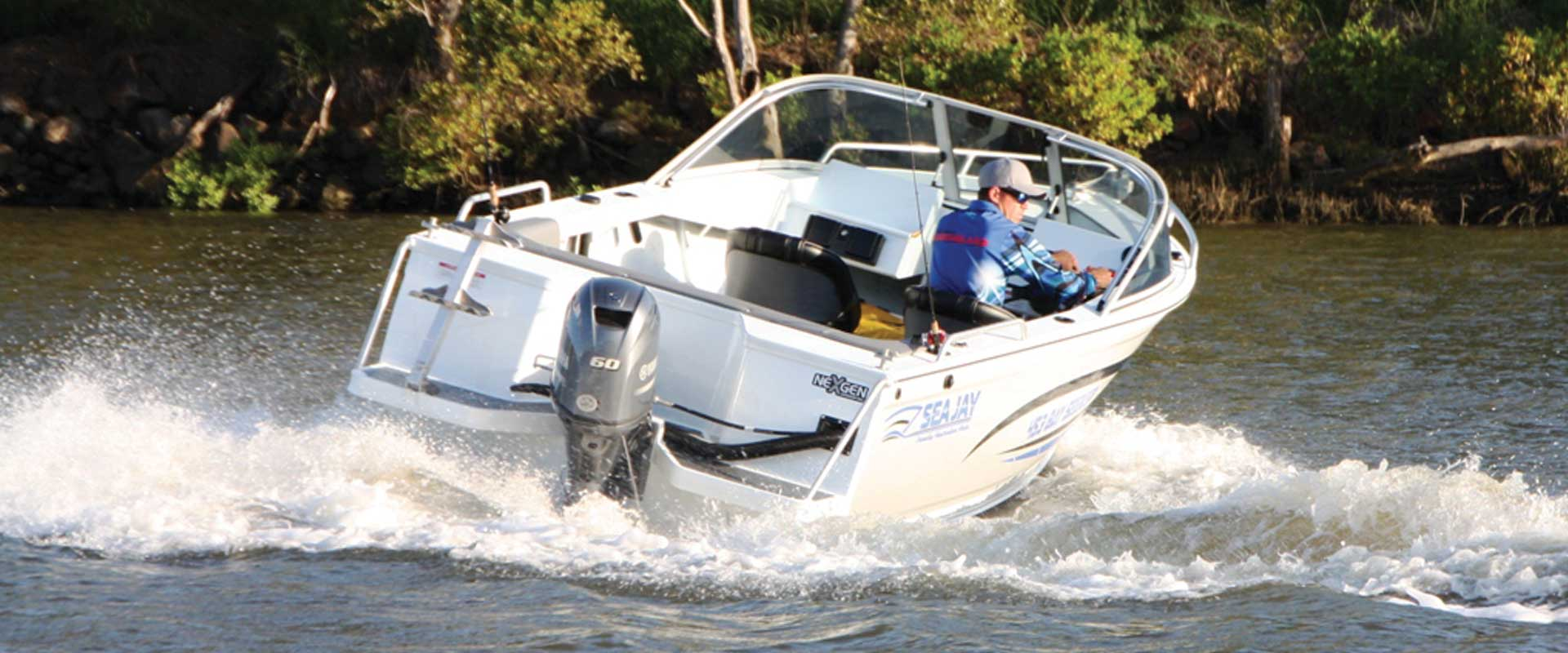 Sea Jay Bay Seeker 4.53