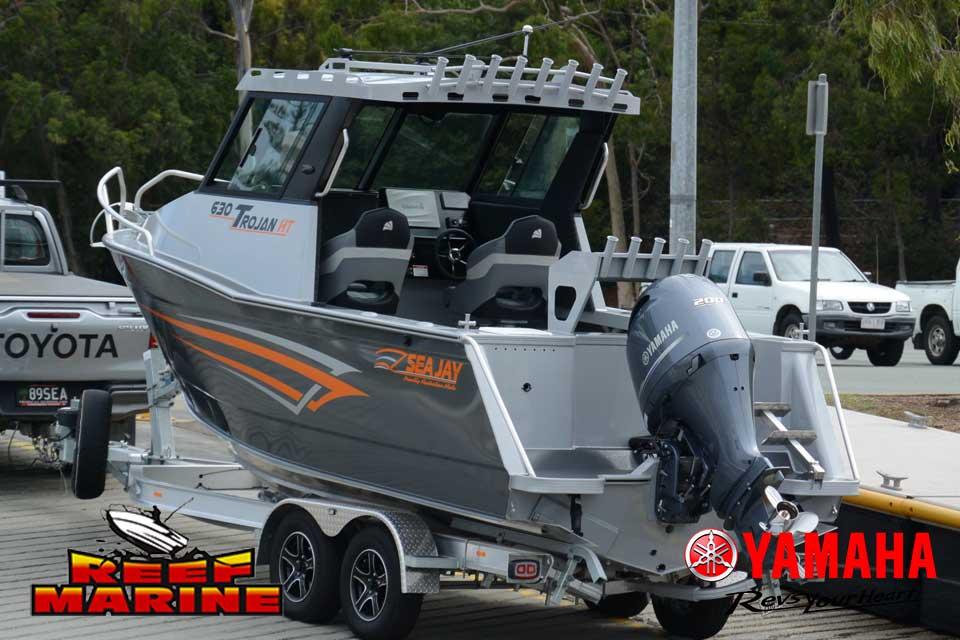 Sea Jay 630 Trojan HT Video