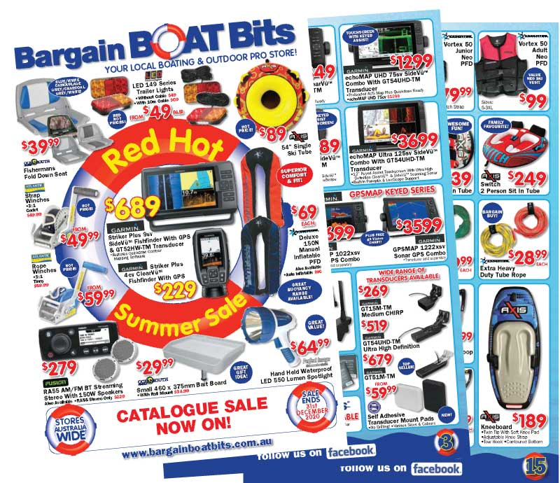Bargain Boat Bits Summer Catalogue Sale 2020