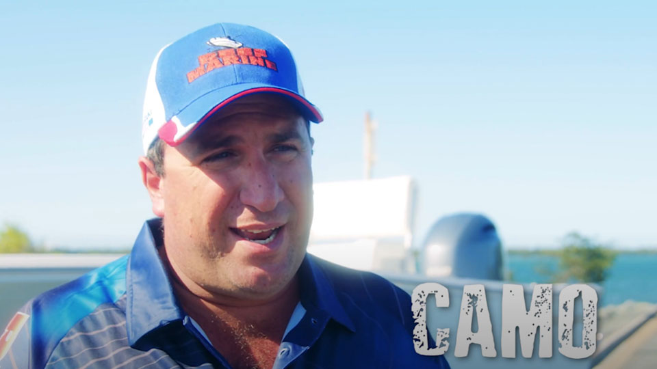 Andrew Camilleri talking Sportsman 17 and 19 Island Reef Boats
